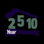 2-5-10 Year Warranty - Logo